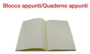 GFP blocco appunti quaderno appunti