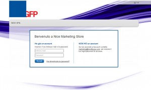 Web to print Marketing Login