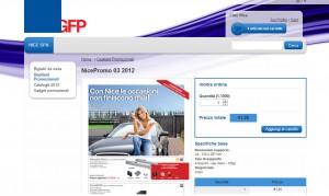 Web to print Personalizzazione documento